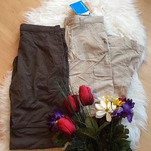 🌺NWT Columbia pants/shorts🌺